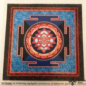 Sri Yantra ablakmatrica