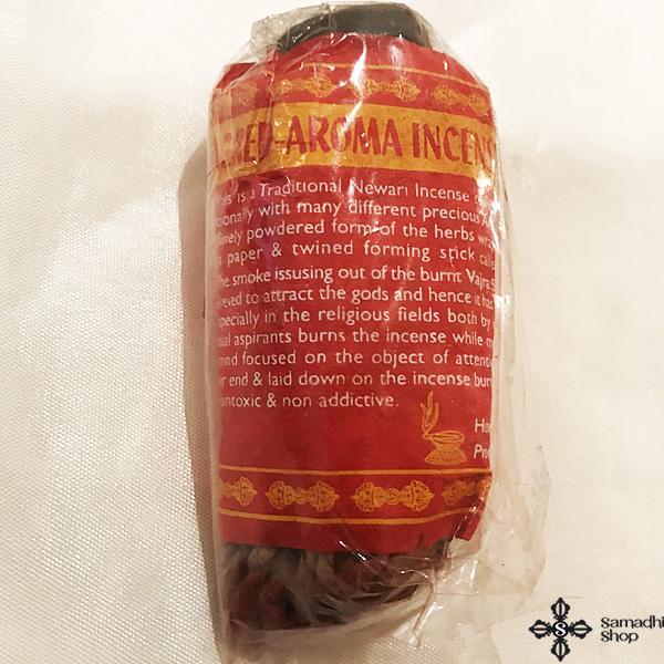 Vajra nepáli kötélfüstölő Sacred Aroma szentelt aroma