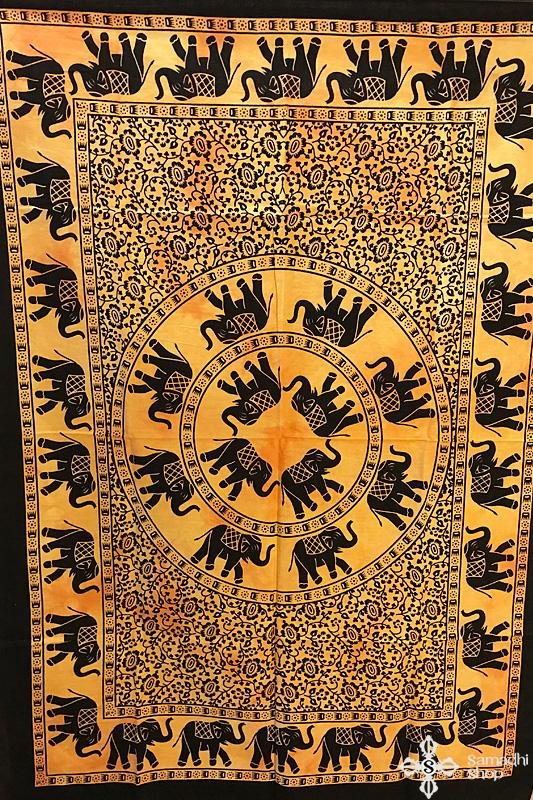 Mandala faliszőnyeg teritő takaró 1