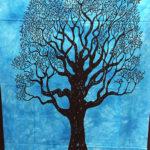 Mandala faliszőnyeg teritő takaró 11