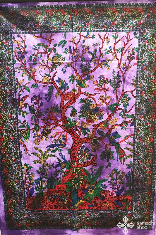 Mandala faliszőnyeg teritő takaró 15