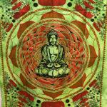 Mandala faliszőnyeg teritő takaró 16