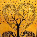 Mandala faliszőnyeg teritő takaró 19