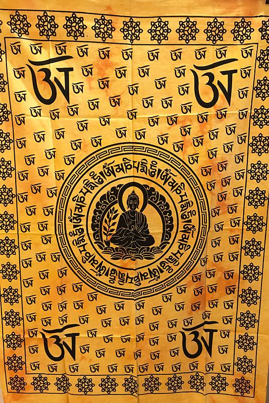 Mandala faliszőnyeg teritő takaró 2