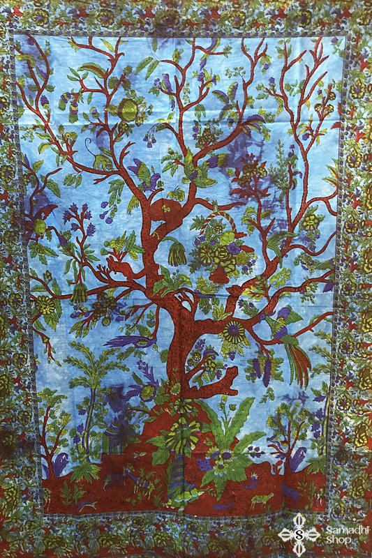 Mandala faliszőnyeg teritő takaró 20