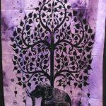 Mandala faliszőnyeg teritő takaró 21