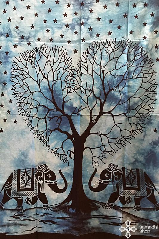 Mandala faliszőnyeg teritő takaró 8