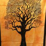 Mandala faliszőnyeg teritő takaró 9