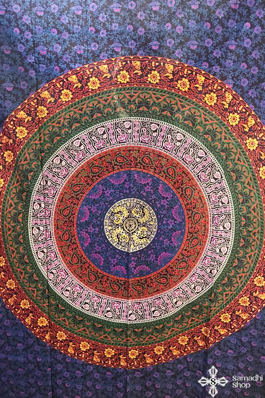 Mandala mintás pamut ágytakaró 10