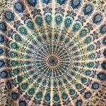 Mandala mintás pamut ágytakaró 14