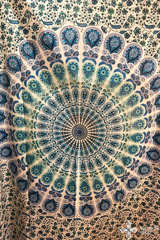 Mandala mintás pamut ágytakaró - Samadhi Shop 6a7bdc8dfb