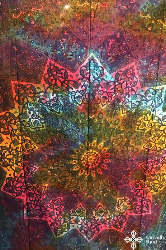 Mandala mintás pamut ágytakaró 17