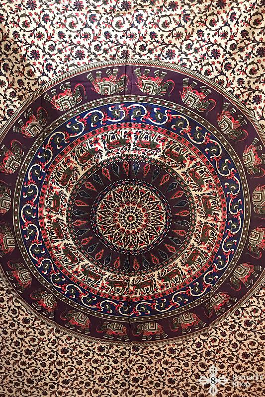 Mandala mintás pamut ágytakaró 8