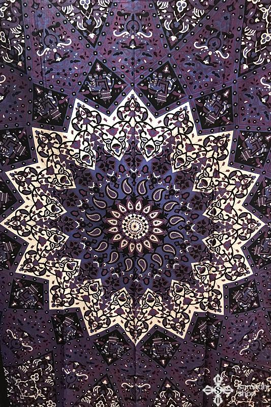 Mandala mintás pamut ágytakaró 9