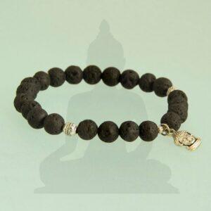 láva buddha karkötő