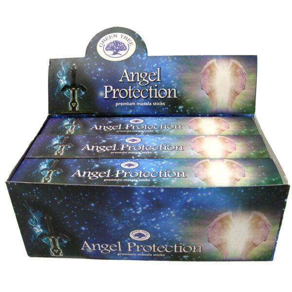 angel protection angyali védelem füstölő green tree samadhi shop
