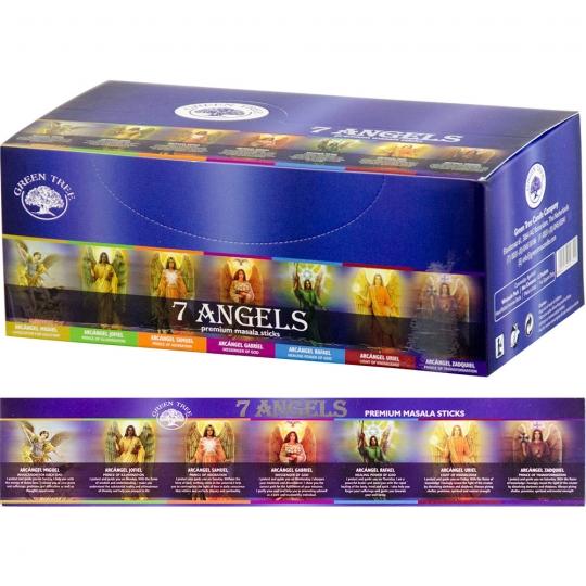 green tree 7 angel angyal füstölő samadhi shop