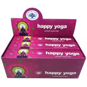 green tree incense happy yoga samadhi shop