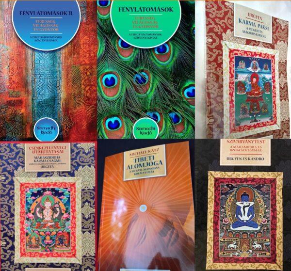 Samadhi Kiadó teljes könyvcsomag 2019