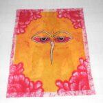buddha szeme batikolt kép