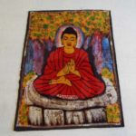 meditálo buddha