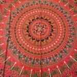 indiai pamut mandala ágytakaró faliszőnyeg samadhi shop 1