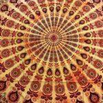 indiai pamut mandala ágytakaró faliszőnyeg samadhi shop 8