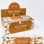 HEM Palo Santo indiai prémium füstölő