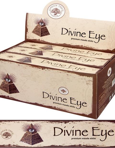 green tree divine eye füstölő