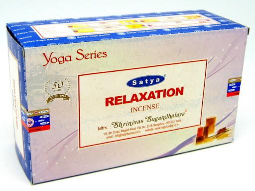 satya relaxation relaxáció füstölő