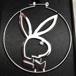 Playboy nemesacél ékszer
