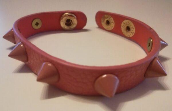 Rózsaszín szegecses s10031