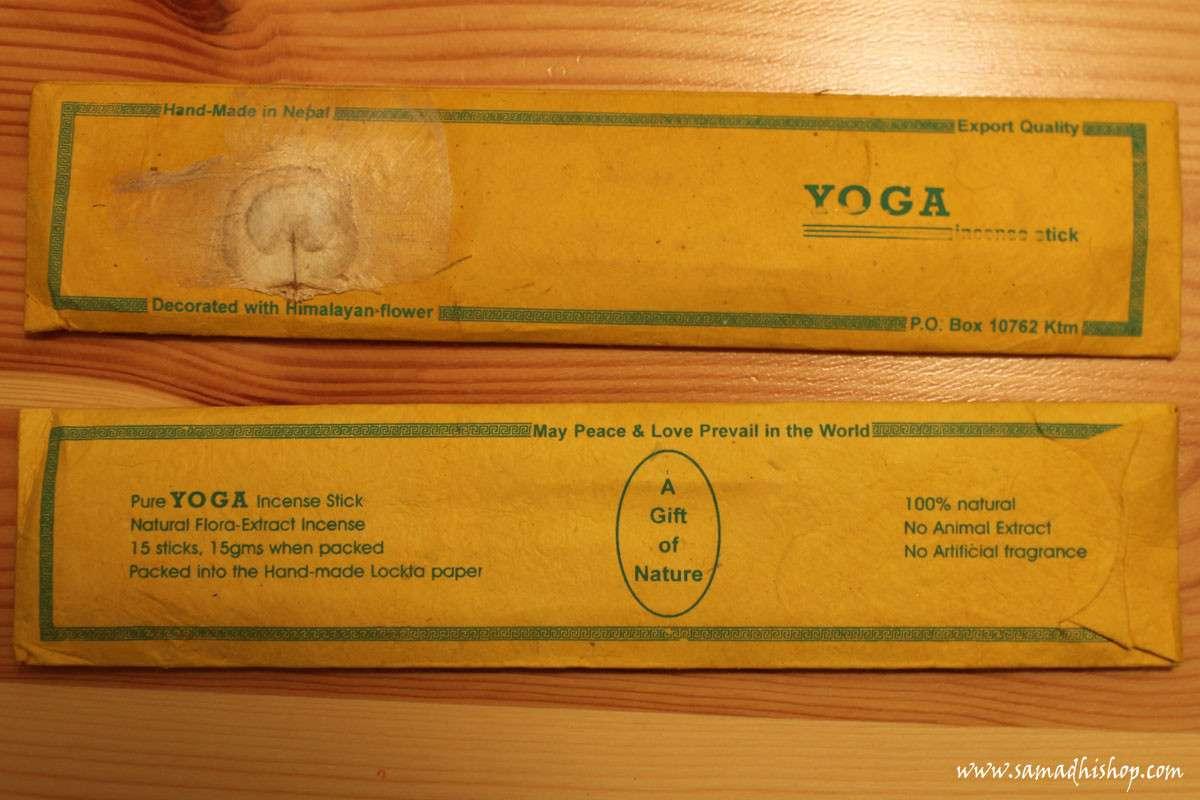 Yoga incense stick
