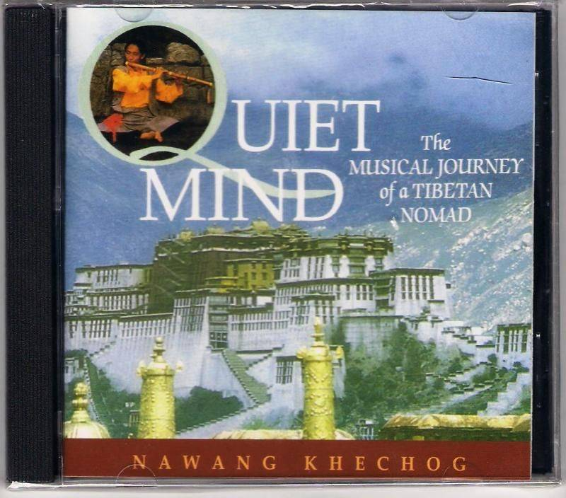 Nawang Khechog: Quiet Mind - The musical journey of a Tibetan nomad CD