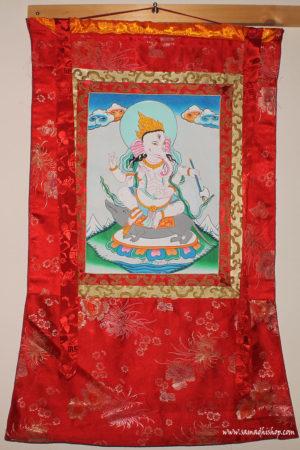 Ganesha thangka