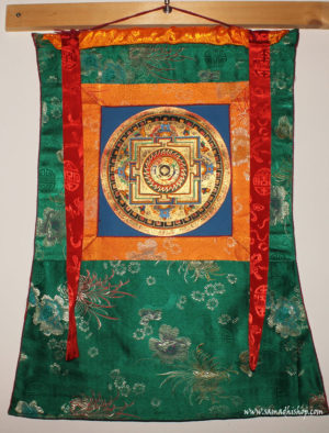 Buddhist mandala thangka