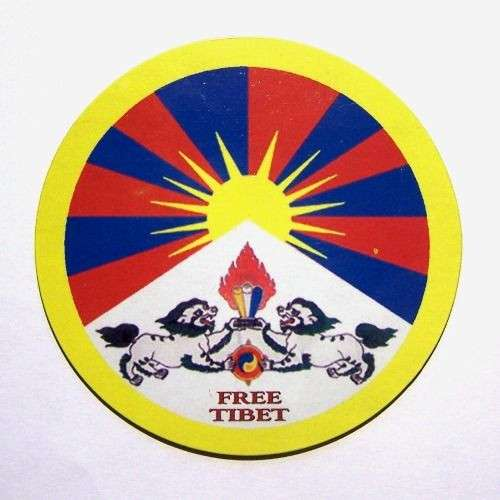 Fridge magnet - Free Tibet