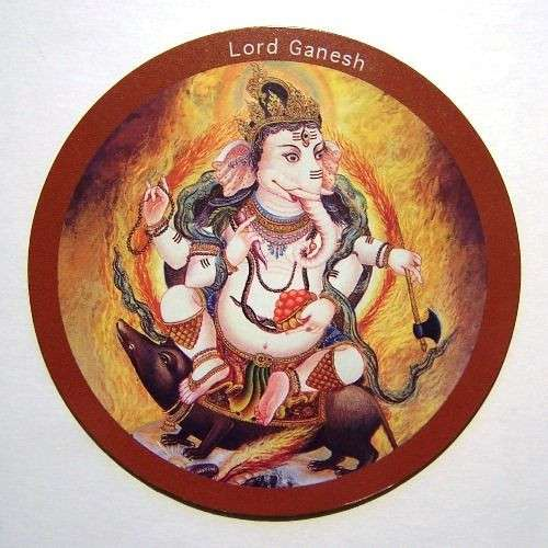 Fridge magnet - Ganesh