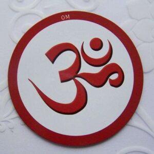 Fridge magnet - OM symbol