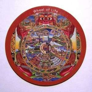 Fridge magnet - Wheel of Life
