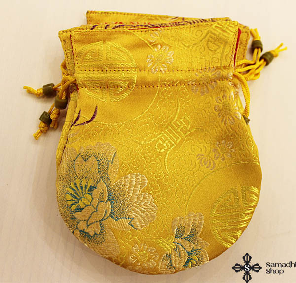 Brocade mala bag (yellow)