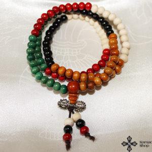 Buddhist 108 Prayer Beads Wooden Mala Necklace (6 mm)