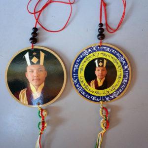 His Holiness the 17th Gyalwang Karmapa Car / Door / Window Hanging