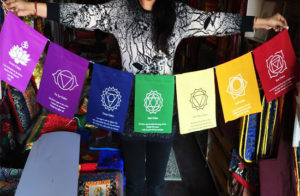 Seven Chakras Prayer Flag