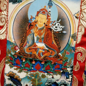 p 7513 Guru Rinpoche Small Thangka 2