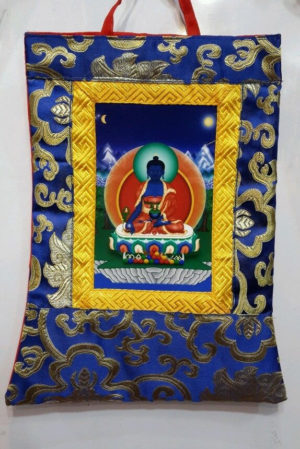 Medicine Buddha Small Thangka
