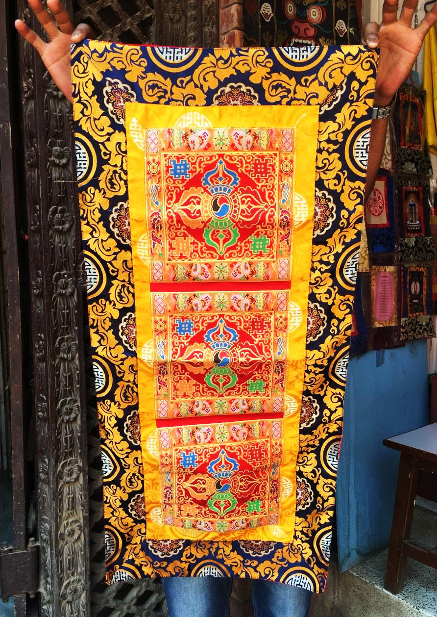 Double Dorje Altar/Table Cloth (Large!)