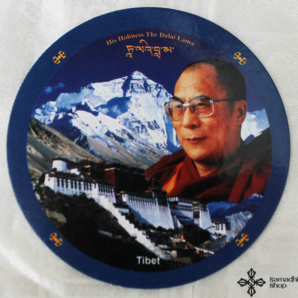Dalai Lama Potala Fridge Magnet