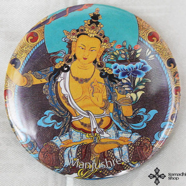 Manjushri Fridge Magnet
