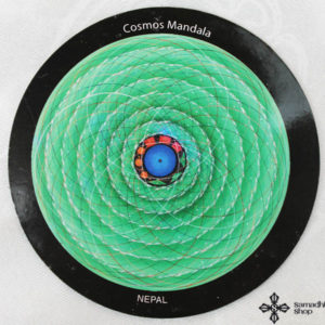 OM Cosmos Mandala Fridge Magnet